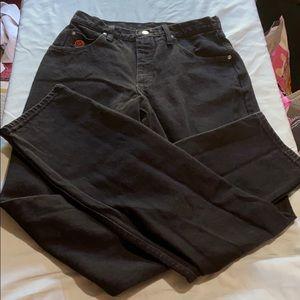 Wrangler Twenty Black Jeans 9/10
